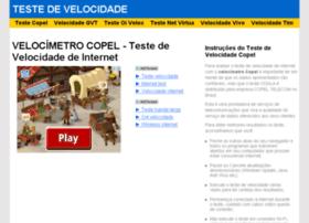 Testedevelocidade.net.br thumbnail