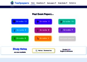 Testpapers.co.za thumbnail