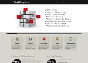 Testregime.com thumbnail