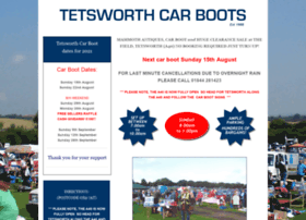 Tetsworthcarboots.co.uk thumbnail