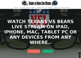 Texansvsbearslivestream.com thumbnail