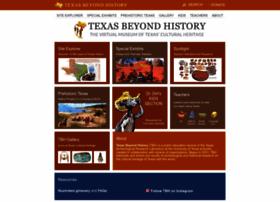 Texasbeyondhistory.net thumbnail