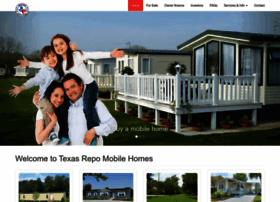 Texasrepomobilehomes.com thumbnail
