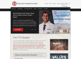 Texastech.edu thumbnail
