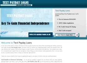 Text-payday-loans.co.uk thumbnail