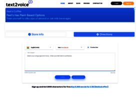 Text2voice.org thumbnail