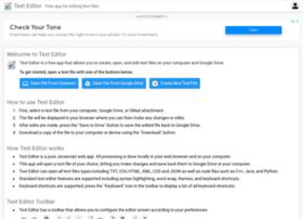 Texteditor.co thumbnail