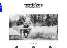 Textfokus.de thumbnail