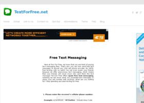 Textforfree.net thumbnail