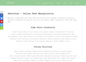 Textifier.net thumbnail