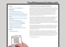 Textmessagecodes.net thumbnail