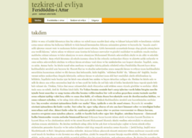 Tezkiretulevliya.net thumbnail