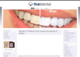 Thaidental.co thumbnail