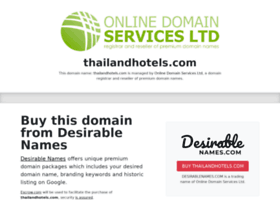 Thailandhotels.com thumbnail