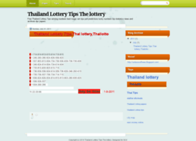 Thailandlottery4tips.blogspot.com thumbnail