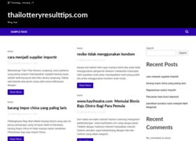 Thailotteryresulttips.com thumbnail