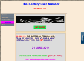 Thailotterysurenumber.com thumbnail