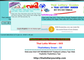 Thailotterytips.freeforums.biz thumbnail