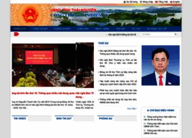 Thainguyen.gov.vn thumbnail