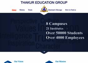 Thakureducation.org thumbnail