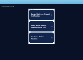Thameshow.co.uk thumbnail