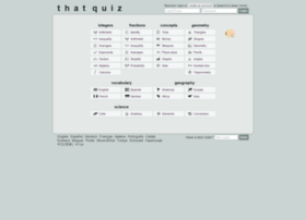 Thatquiz.com thumbnail