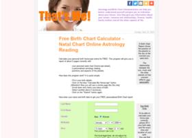 Thatsme-horoscopes.com thumbnail
