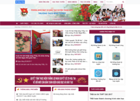 Thcsbinhthanh.edu.vn thumbnail
