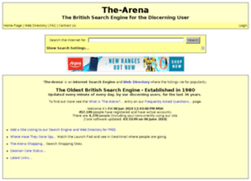 The-arena.co.uk thumbnail