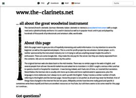 The-clarinets.net thumbnail