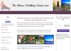 The-fitness-walking-guide.com thumbnail