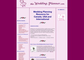The-wedding-planner.com thumbnail