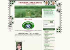 Theamericanmuslim.org thumbnail