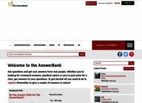 Theanswerbank.co.uk thumbnail