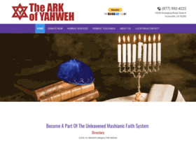 Thearkofyahweh.org thumbnail