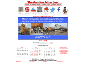 Theauctionadvertiser.com thumbnail