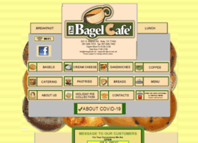 Thebagelcafe.net thumbnail