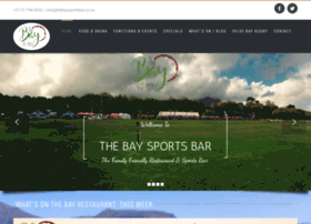 Thebaysportsbar.co.za thumbnail