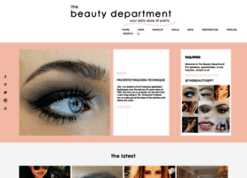 Thebeautydepartment.com thumbnail
