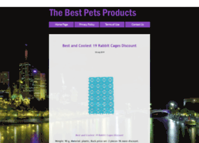 Thebestpetsproducts.com thumbnail