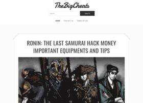 Thebigcheats.com thumbnail
