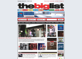 Thebiglist.co.uk thumbnail