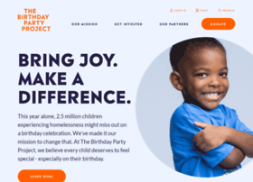 Thebirthdaypartyproject.org thumbnail