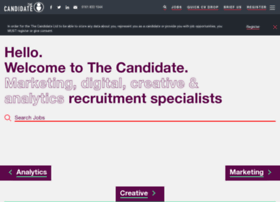Thecandidate.co.uk thumbnail