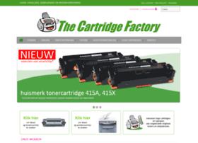 Thecartridgefactory.nl thumbnail