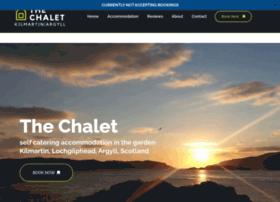 Thechalet-kilmartin.co.uk thumbnail