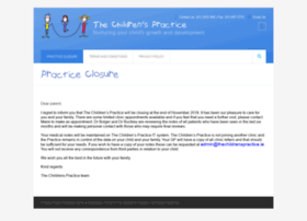 Thechildrenspractice.ie thumbnail