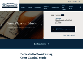 Theclassicalstation.org thumbnail