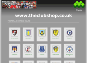 Theclubshop.co.uk thumbnail