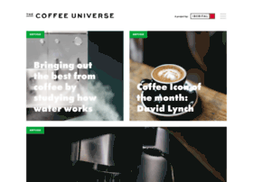 Thecoffeeuniverse.org thumbnail